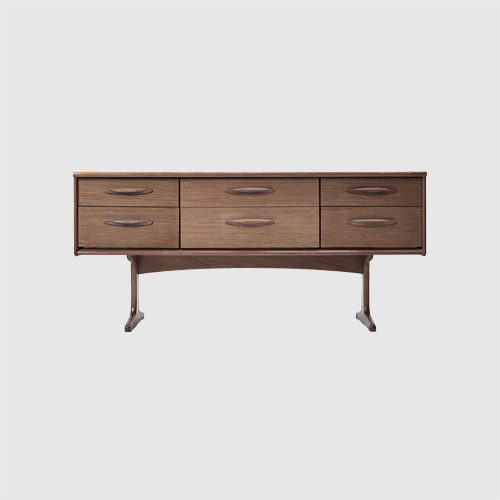 DANISH TEAK SIDEBOARD BY FRANK GUILLE