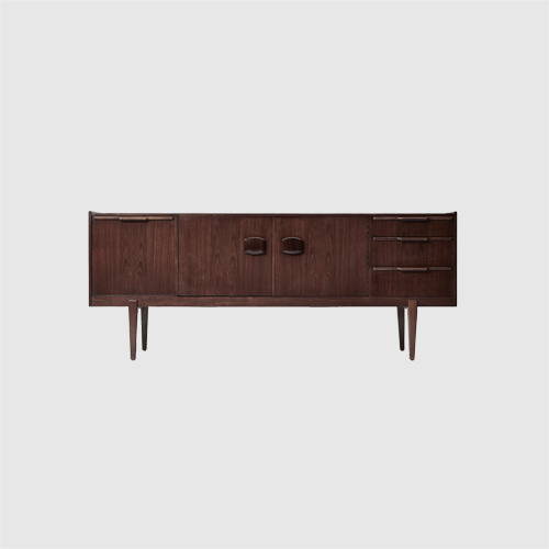 LONG LOW SIDEBOARD CREDENZA UNIT